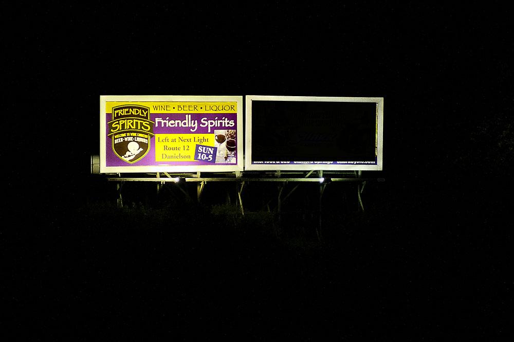 Killingly-Plainfield: Danielson RT 6 - 2DAN-E1 at Night