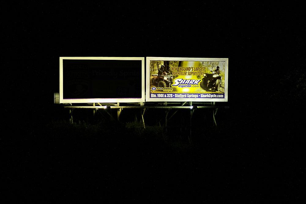Killingly-Plainfield: Danielson RT 6 - 2DAN-E2 at Night